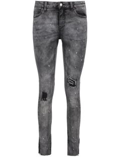 Pieces Jeans PCRIKA NW SKN ANKLE JEANS DGR S206 17083801 Dark Grey Denim