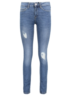 NMLUCY NW DESTROY JEANS MED BLUE NO 10160143 Medium Blue Denim
