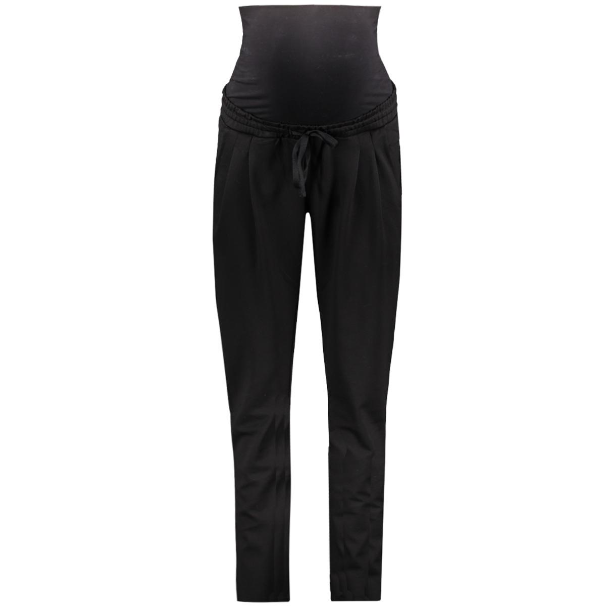 mllif jersey pants s-noos 20007421 mama-licious positie broek black
