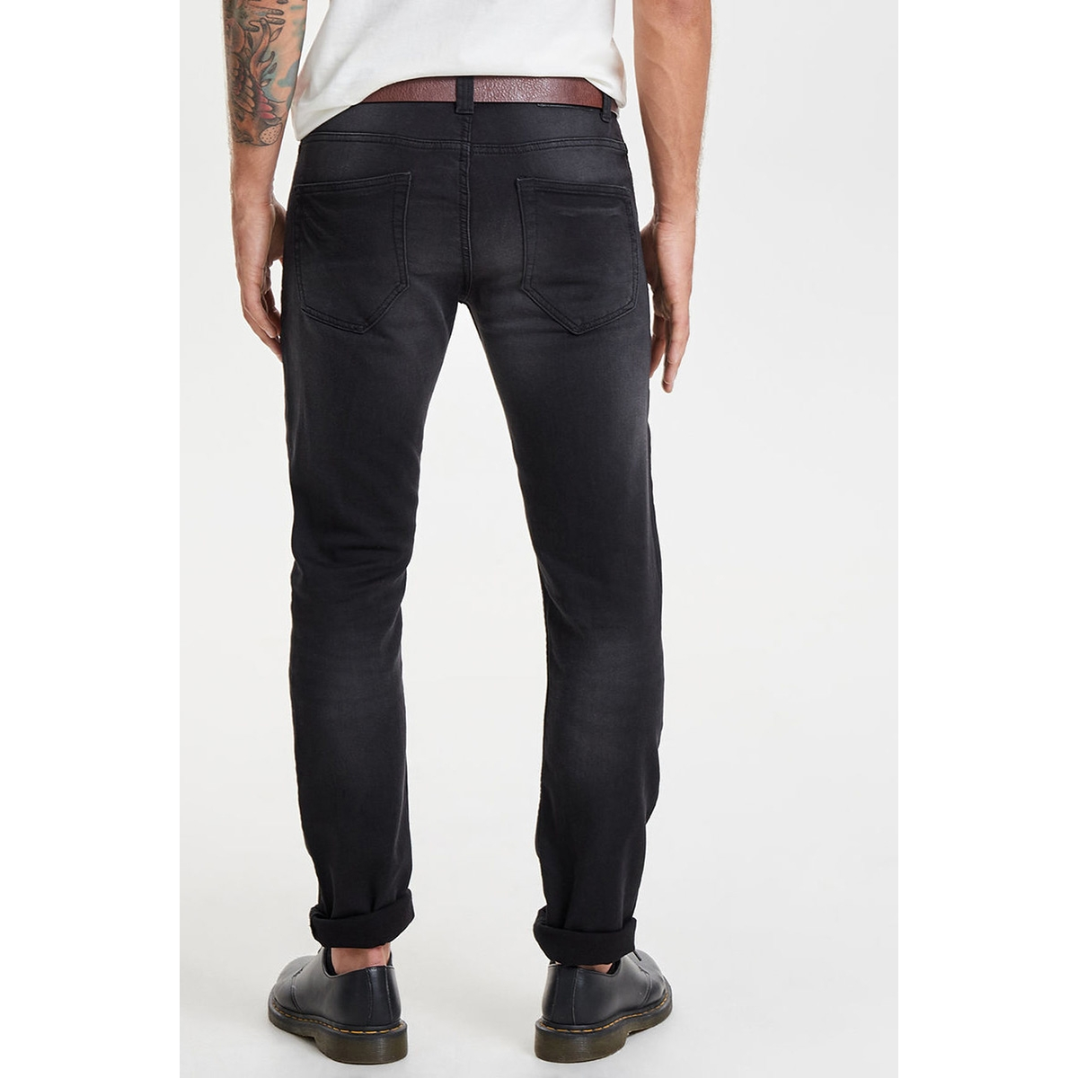 onsloom black jog 7451 pk noos 22007451 only & sons jeans black