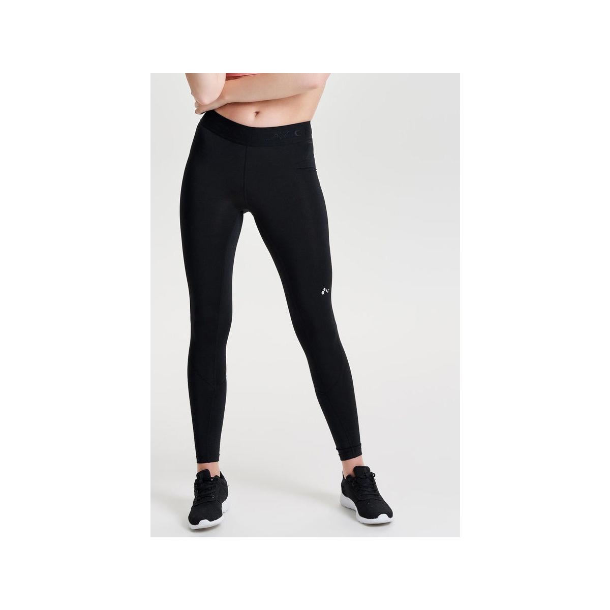 onpgill training tights - opus 15135800 only play sport broek black