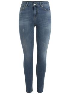 Pieces Jeans PCFIVE DELLY B139 MW SKN JNS MBLD/N 17085750 Medium Blue Denim