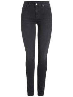 pcfive delly b212 mw skn jns blk/noos 17079389 pieces jeans black