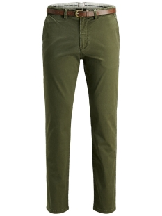 Jack & Jones Broek JJICODY JJSPENCER WW OLIVE NIGHT 12127367 Olive Night
