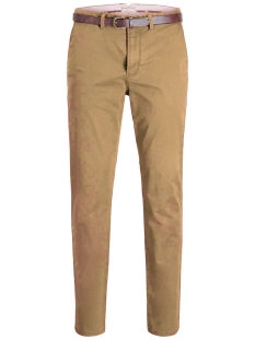 Jack & Jones Broek JJICODY JJSPENCER WW TAN NOOS 12125511 Tan