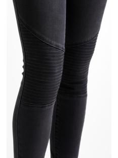 vicommit lux rw biker-noos 14042364 vila jeans grey denim
