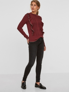 nmeve lw pocket piping jeans vi876 27000755 noisy may jeans black