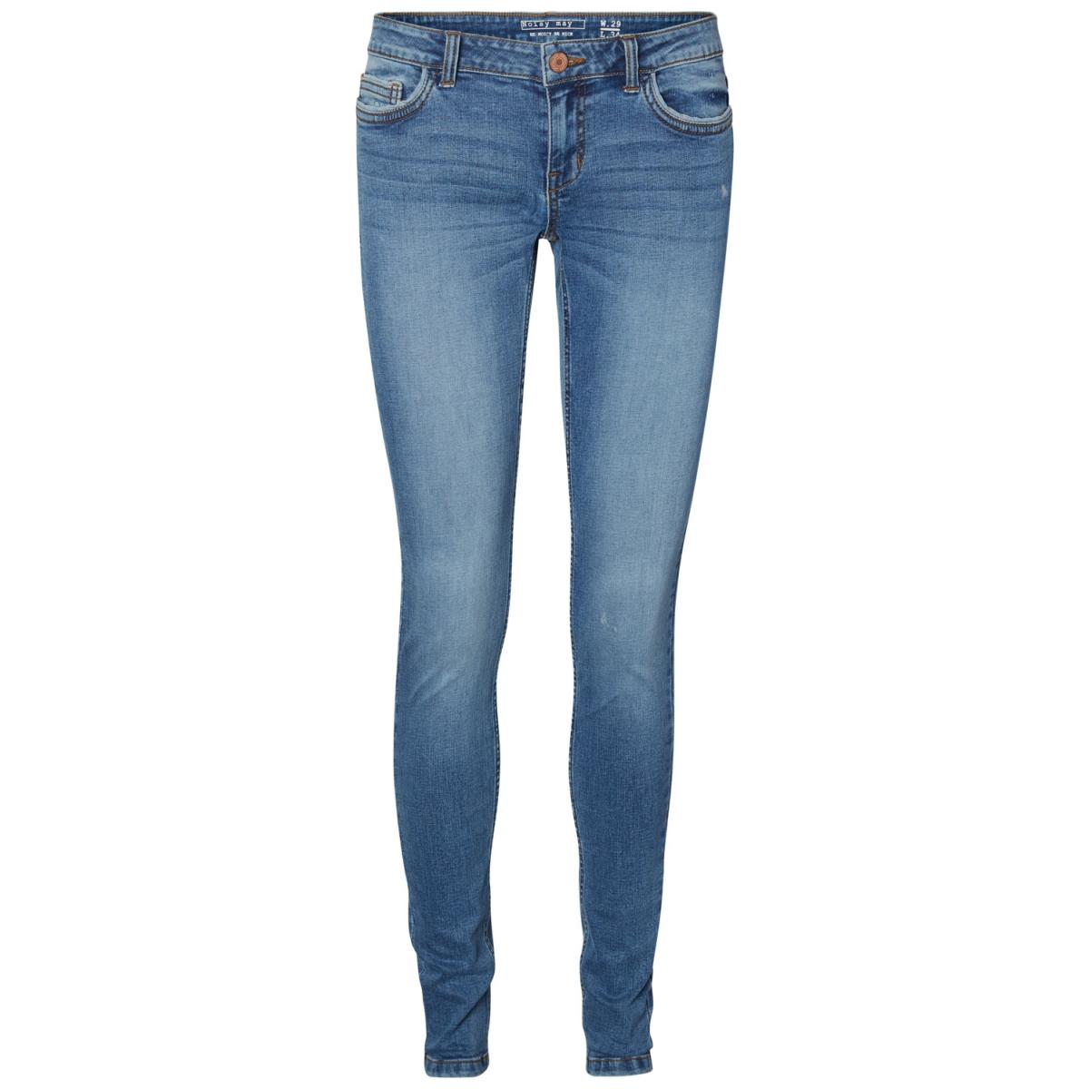 nmeve lw pocket piping jeans vi878 27000756 noisy may jeans medium blue denim