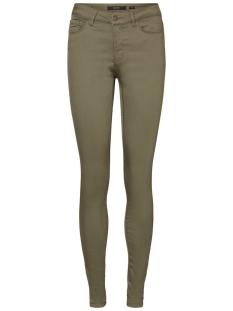 Vero Moda Broek VMHOT SEVEN NW SLIM PANTS AW 10183250 Ivy Green