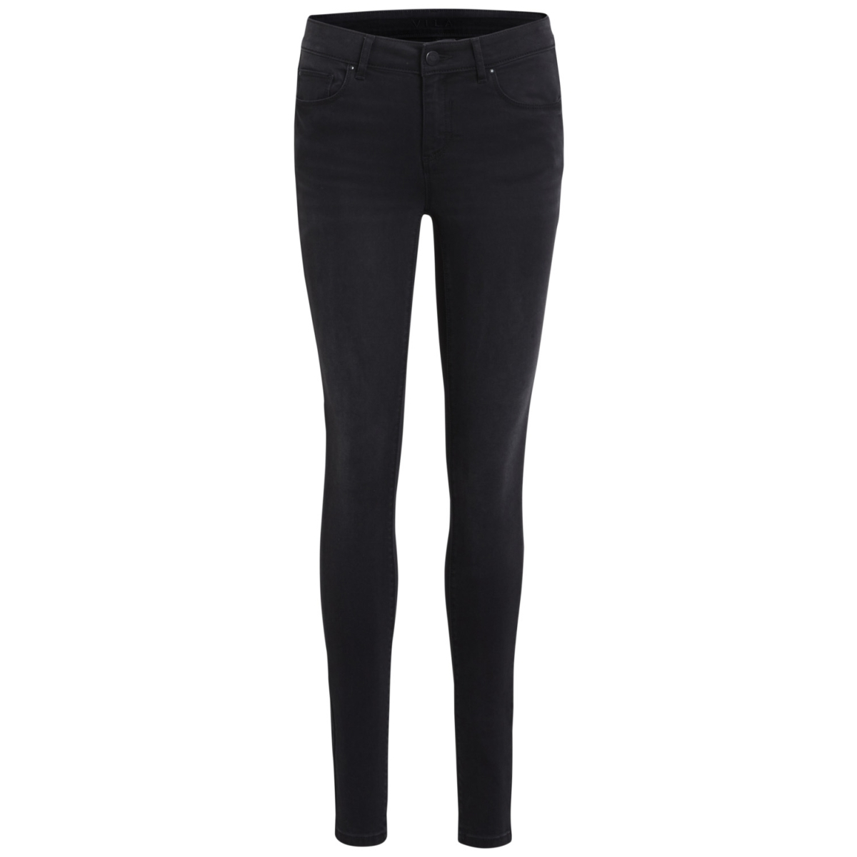 vicommit rw slim grey-noos 14042594 vila jeans grey denim
