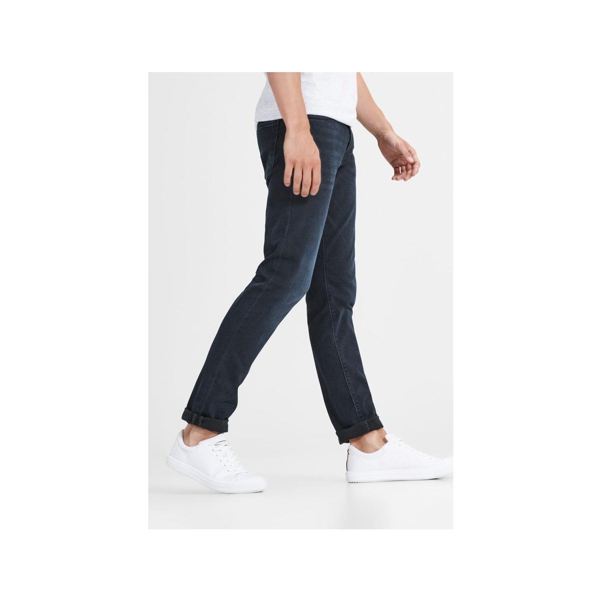 jjiglenn jjfelix am 458 pcw sps noos 12125513 jack & jones jeans black denim