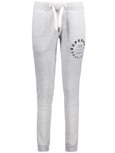 Superdry Broek G70021PP APPLIQUE SLIM JOGGER HEY (Grey Marl Nep)