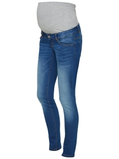 Mama-Licious Positie broek MLFIFTY 002 SLIM JEANS NOOS 20008294 Medium Blue Denim