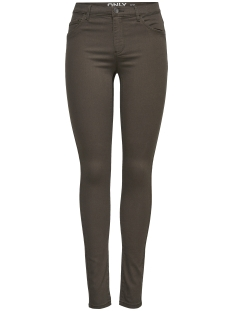 onlRAIN REG SK NEW COLOUR PANT PNT 15139311 Black Olive