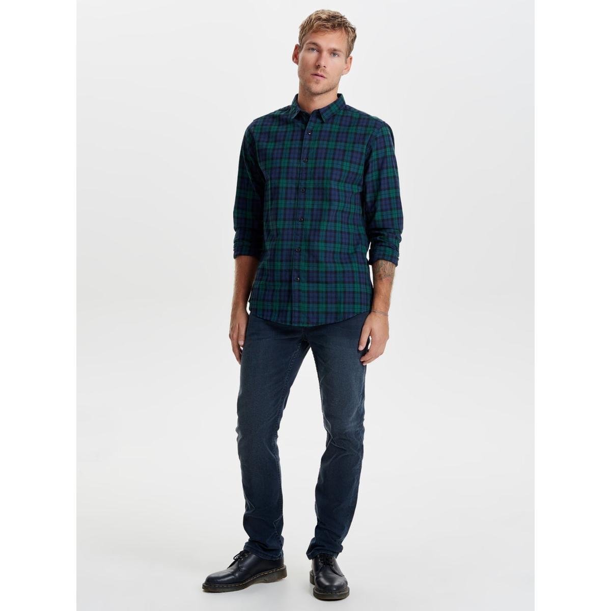 onsloom dark blue 7728  (4358) pa n 22007728 only & sons jeans dark blue denim