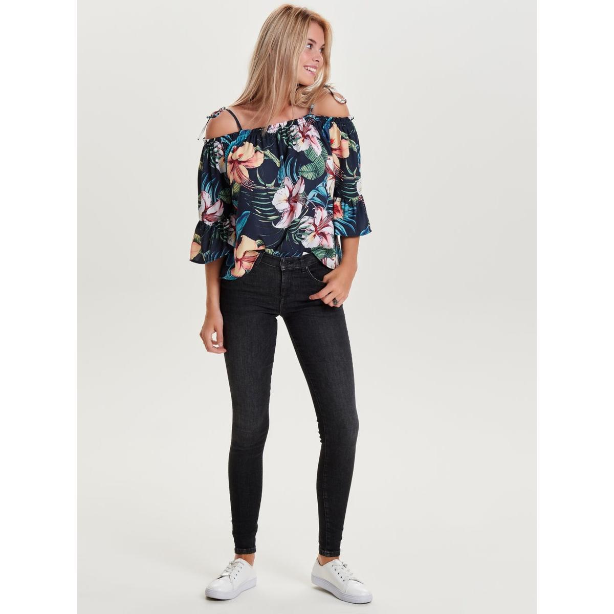onlshape deluxe dnm jeans rea18001 noos 15138726 only jeans black