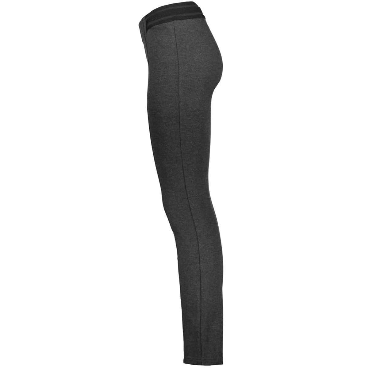 vmstorm hw slim stitched legging 10185902 vero moda legging dark grey melange