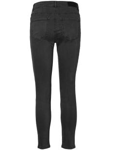 vmseven nw super slim biker ankle pants 10183218 vero moda jeans dark grey melange