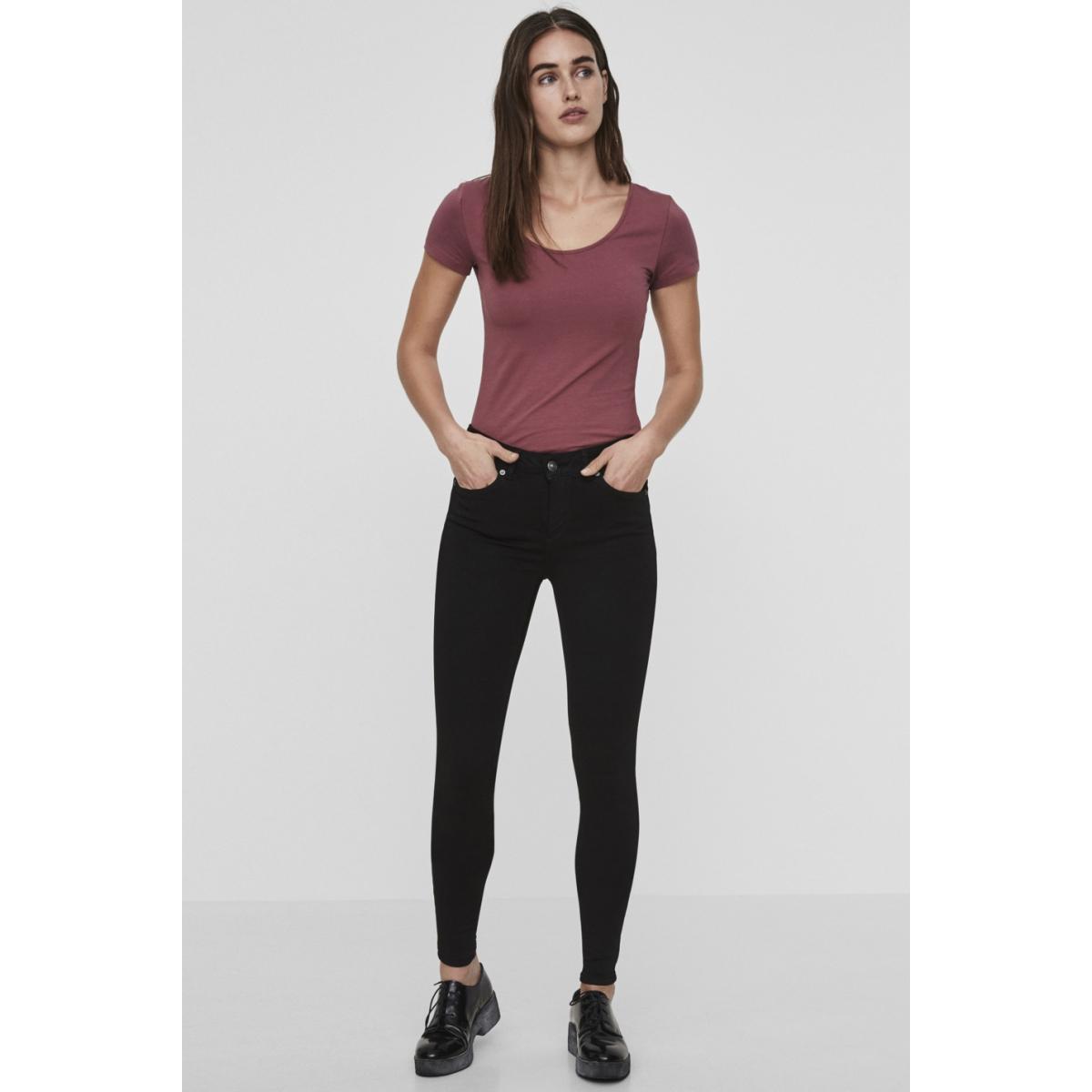 vmlux nw super slim jeans ba037 noos 10158160 vero moda jeans black