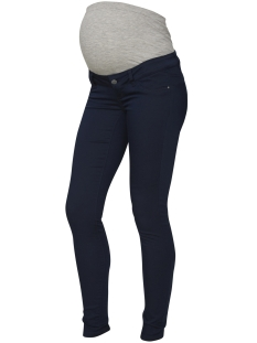 Mama-Licious Positie broek MLELLY SKINNY COLOR JEANS 20006799 Navy Blazer