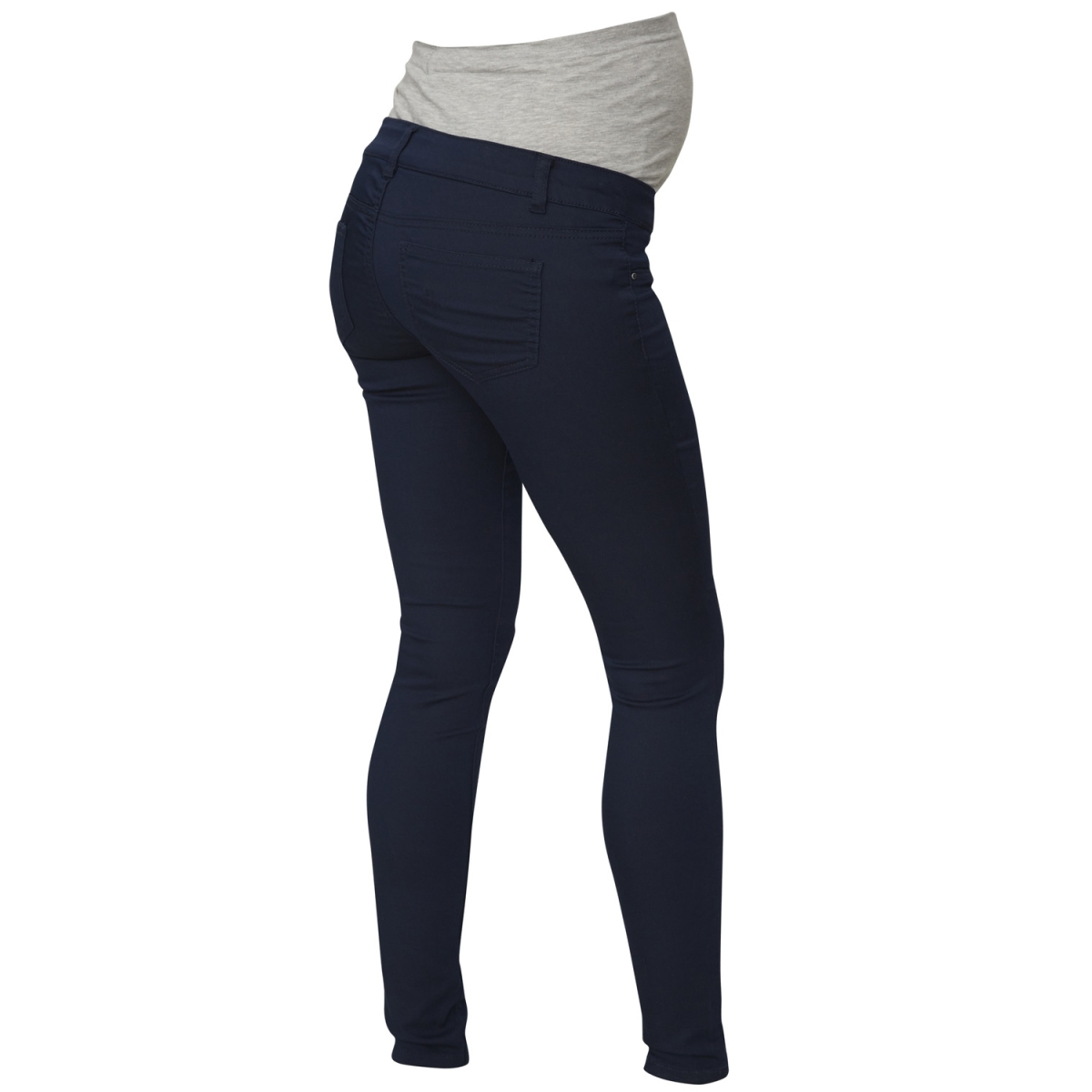 mlelly skinny color jeans 20006799 mama-licious positie broek navy blazer