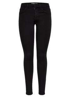 Only Jeans onlRAIN REG SKINNY JEANS CRY6060 15129693 Black Denim