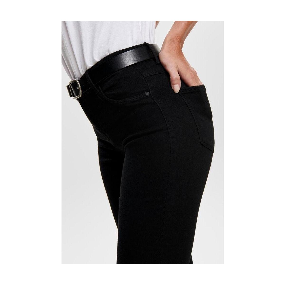 onlrain reg skinny jeans cry6060 noos 15129693 only jeans black denim