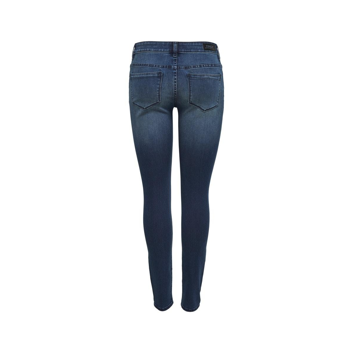onlcarmen reg sk dnm jeans 15138706 only jeans dark blue denim