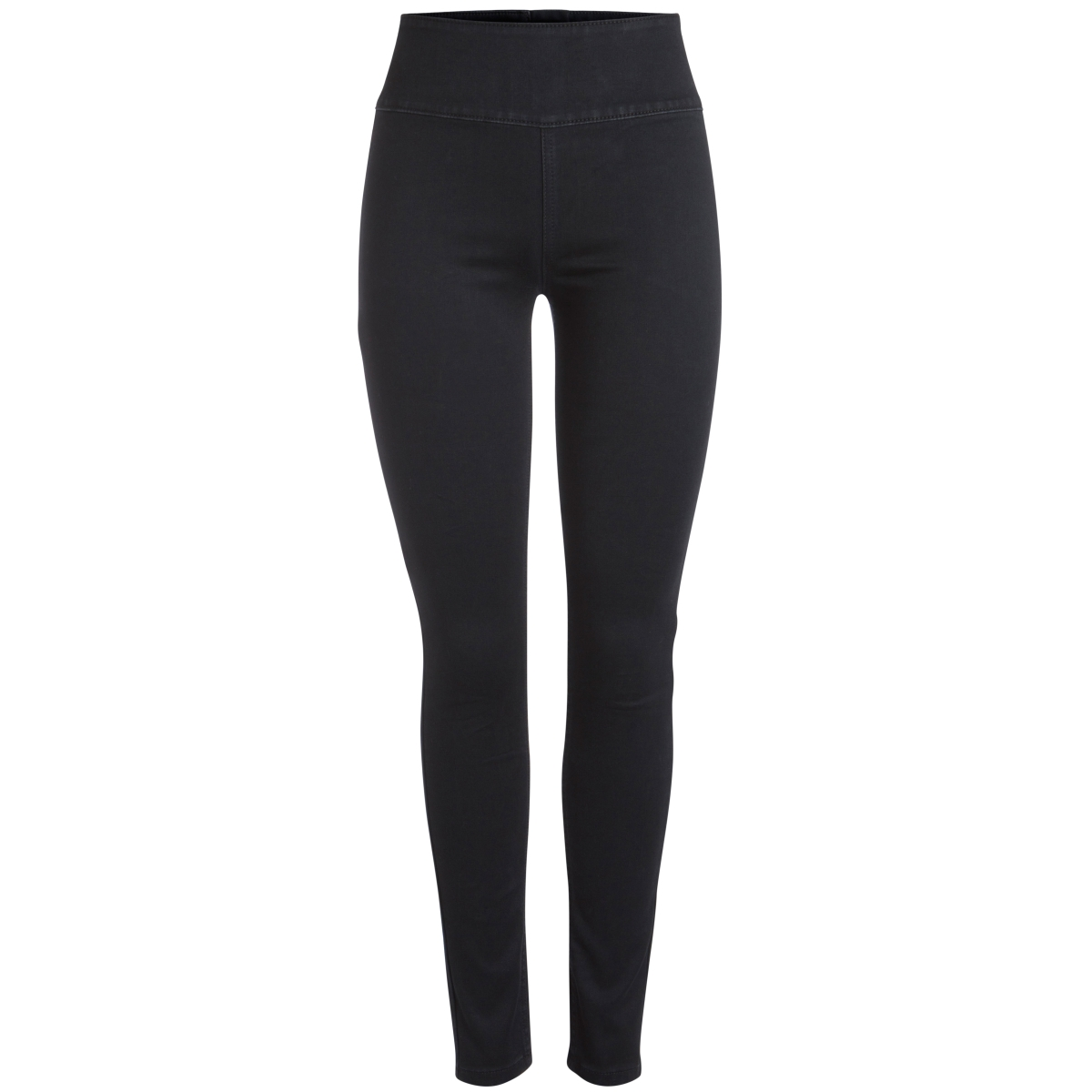 pchighwaist soft jeggings blc/noos 17080371 pieces legging black