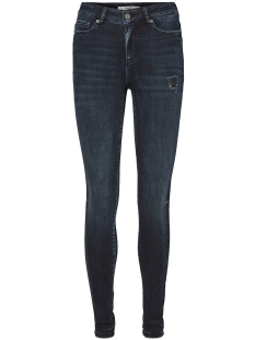 VMSEVEN NW SS BLACKBLUE JEANS 10187372 Dark Blue Denim