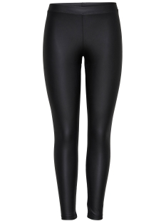 Only Legging onlNICE COATED LEGGINGS NOOS 15147169 Black