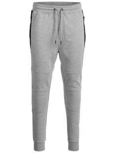 Jack & Jones Broek JCOWILL SWEAT PANT NOOS 12111598 Light Grey Melange