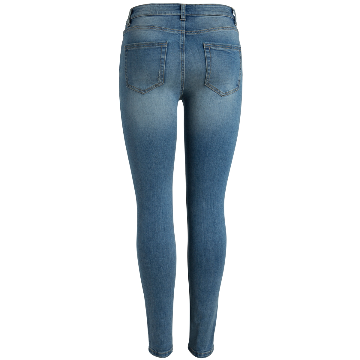 pcfive delly 3.0 f115 mw skn jns lb 17082887 pieces jeans light blue denim
