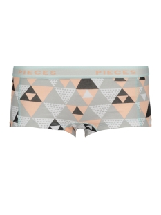 Pieces Ondergoed PCLOGO LADY BOXERS14-225 DOODLE 17085816 High Risk