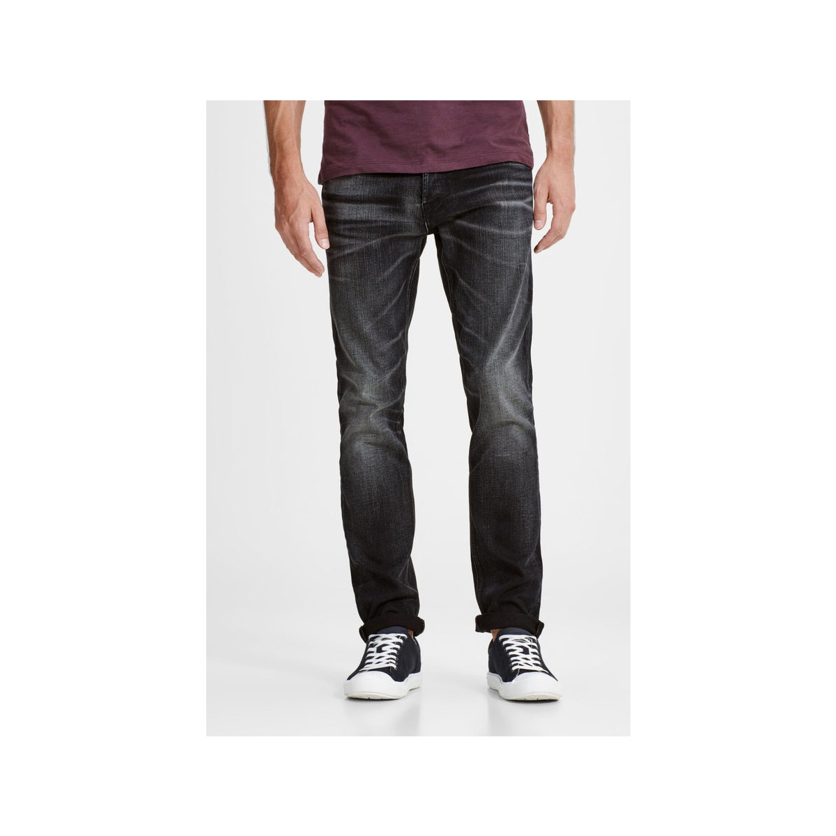 jjitim jjoriginal jj 023 noos aw12 12125712 jack & jones jeans black denim
