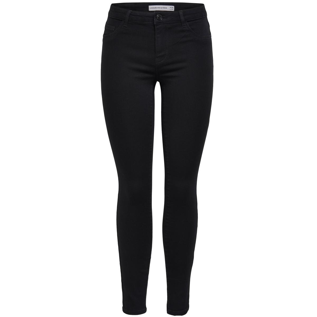 jdyskinny reg. ulle black jeans dnm 15133579 jacqueline de yong jeans black