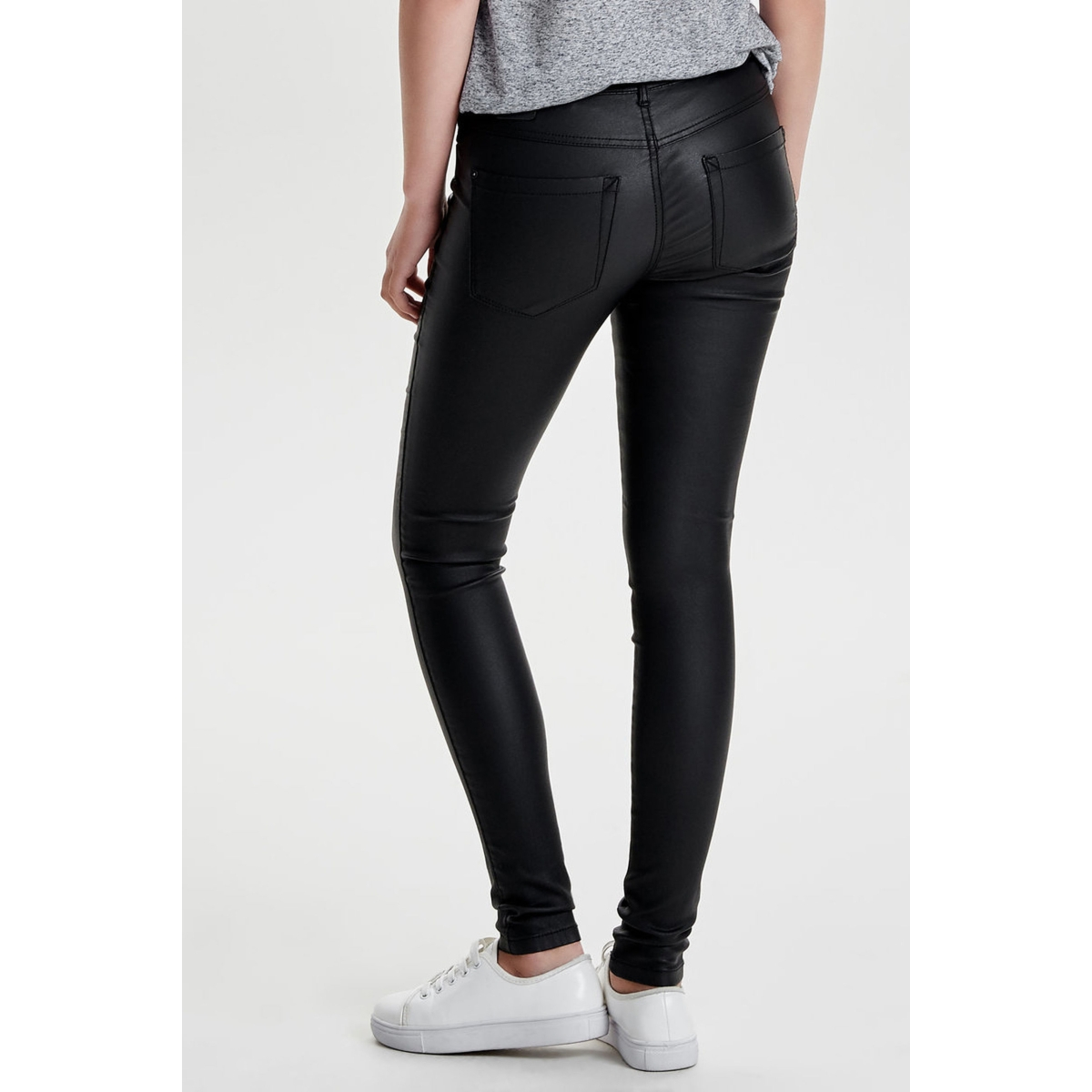 onlroyal r sk  rock coated pnt pim 15144083 only broek black