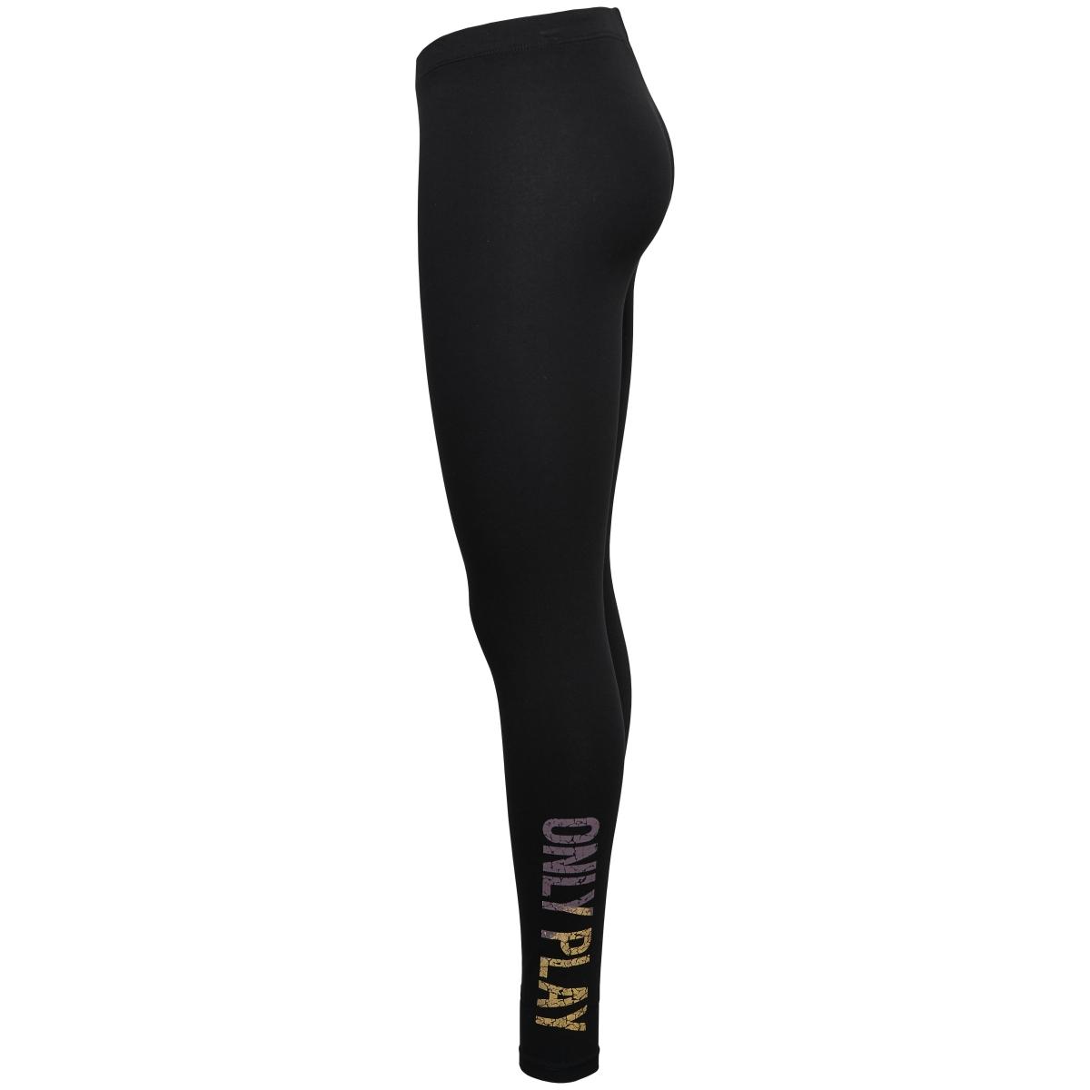 onpdenja jersey leggings 15135113 only play sport broek black/moonscape