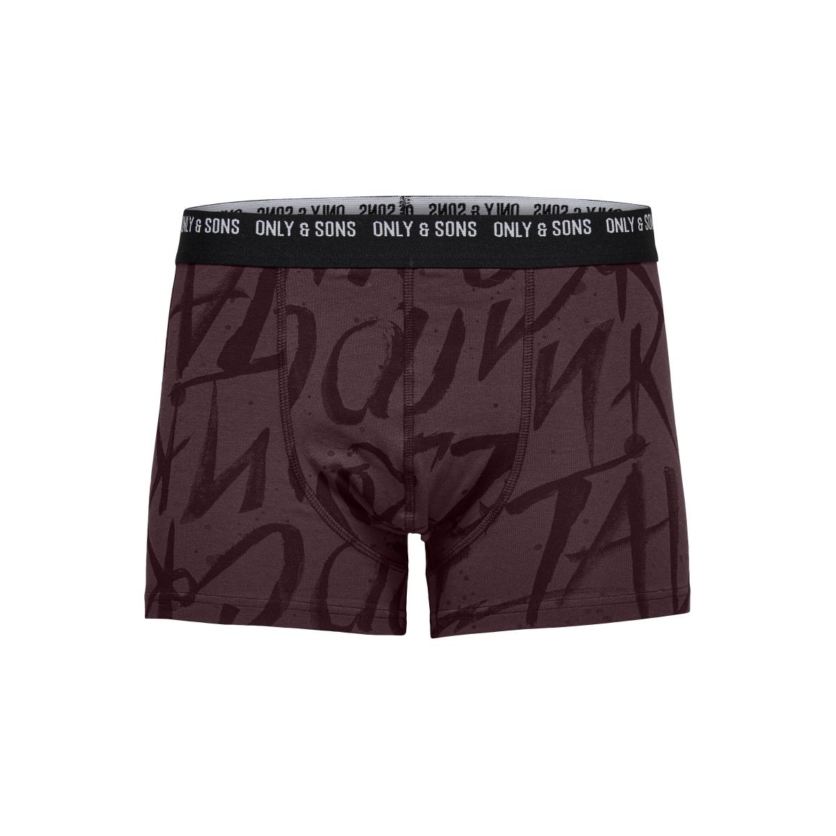onsnate trunk noos 22007823 only & sons ondergoed fudge