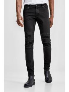 jjiglenn jjdust am 657 sts 12131221 jack & jones jeans black denim