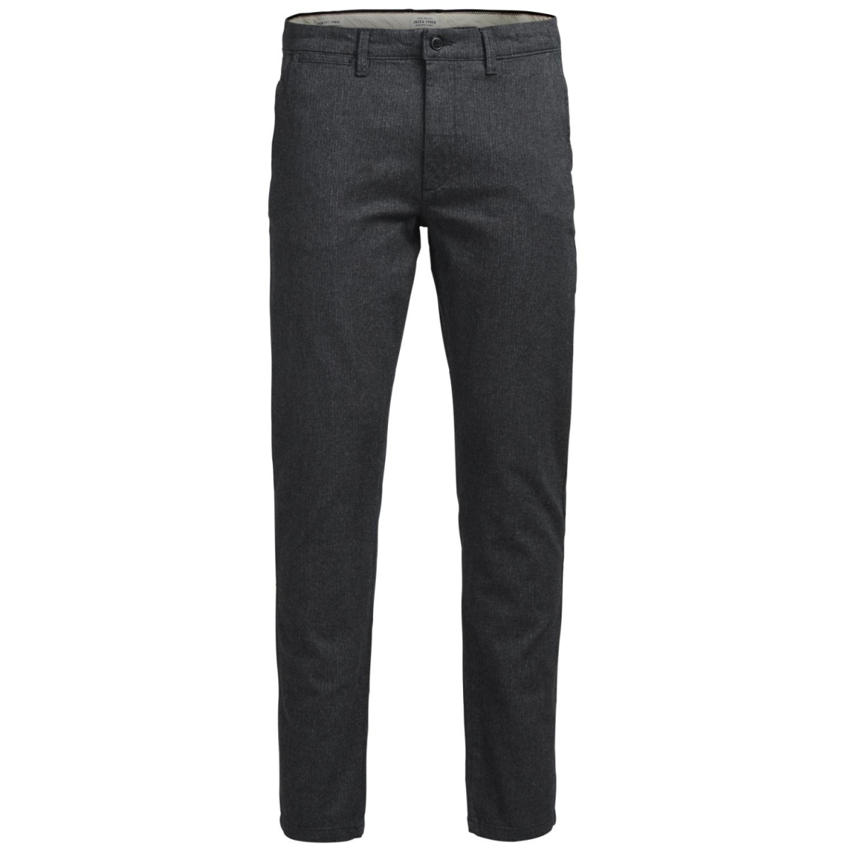 jjimarco jjcharles akm 269 dark gre 12125604 jack & jones broek dark grey