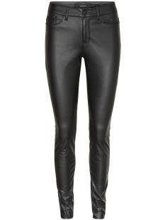 Vero Moda Broek VMSEVEN NW PU PANTS 10183640 Black