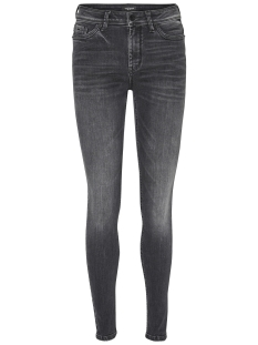 Vero Moda Jeans VMSEVEN NW SS PIPING JEANS AM202 NO 10191333 Black
