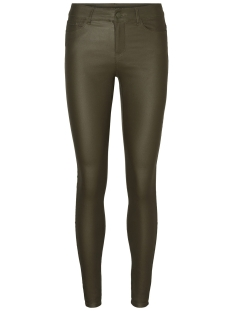 Vero Moda Broek VMSEVEN NW SS SMOOTH COATCLR PANT N Ivy Green