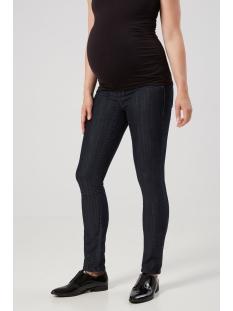 mljulia unw dark blue slim jeans 20006343 mama-licious positie broek dark blue denim