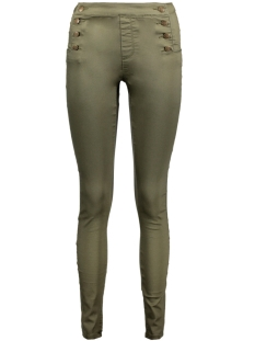 Vero Moda Broek VMHOT NINE HW BUTTON PANTS AW 10183256 Ivy Green
