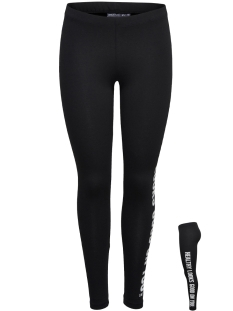 Only Play Sport broek onpHODEL JERSEY LEGGINGS 15135554 Black- White