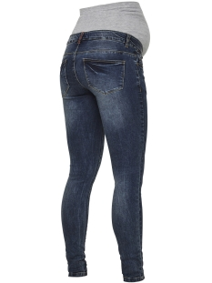 mlparvin slim jeans 20007918 mama-licious positie broek medium blue denim
