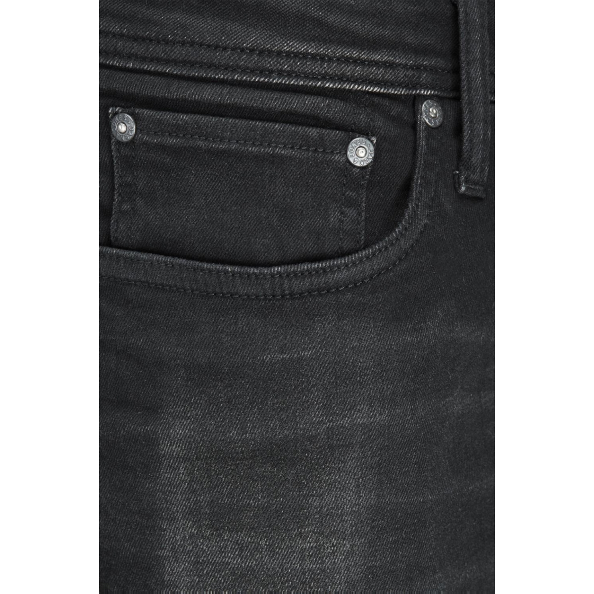 jjitim jjoriginal am 652 12129894 jack & jones jeans black denim