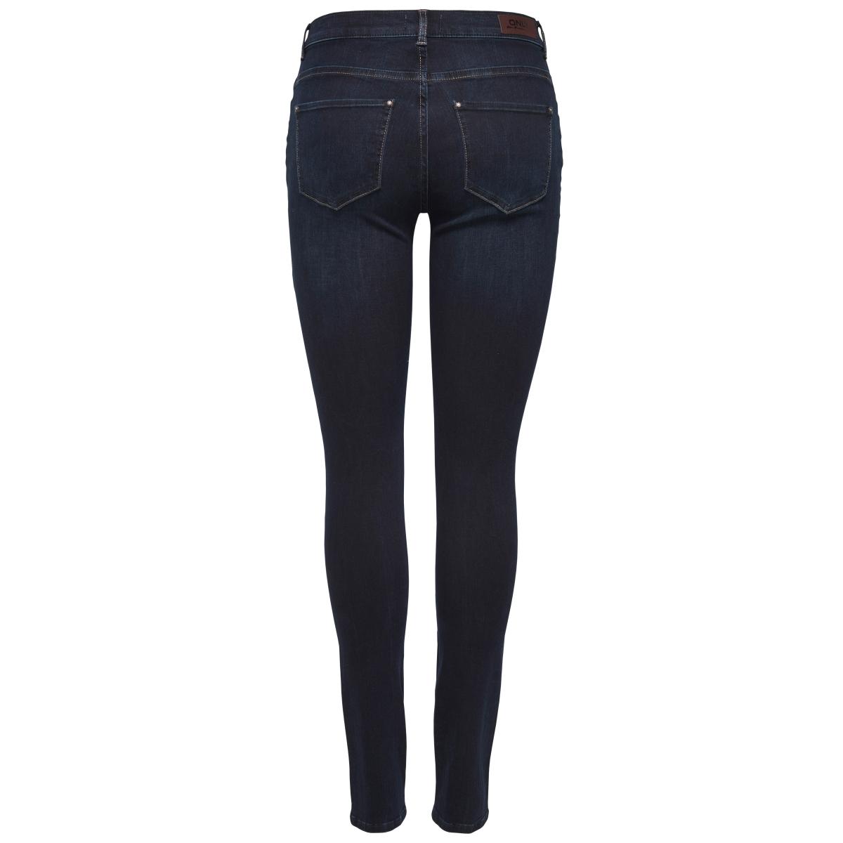onlshape reg skinny  jeans rea18726 noos 15145264 only jeans dark blue denim